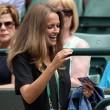 Kim Sears at Wimbledon