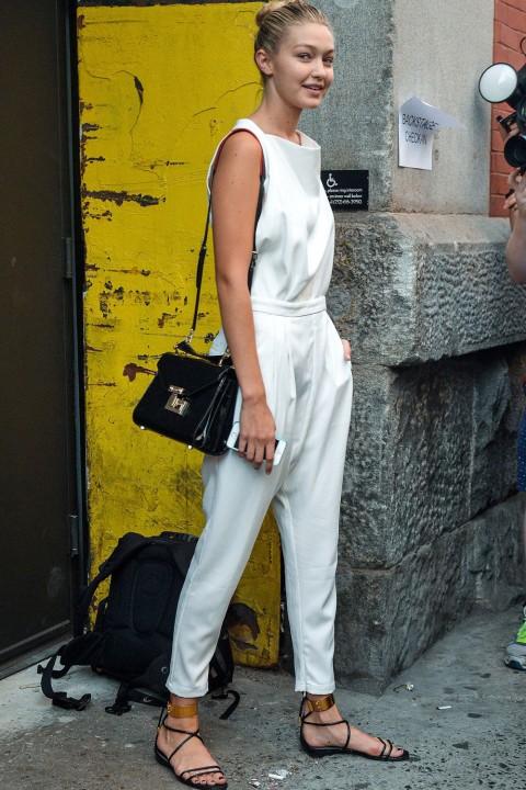 Gigi Hadid Knows How to do Street Style