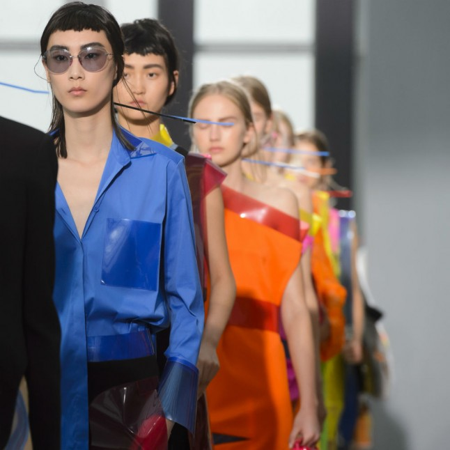 Plastic Fantastic: 7 Trends You Need To Know About From Christopher Kane's SS16 Show
