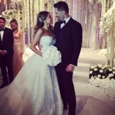 Sofia Vergara Joe Manganiello Wedding Instagram