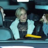 Jennifer Lawrence Adele Emma Stone in cab