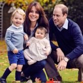 Prince William Christmas Card