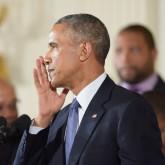 Obama crying T