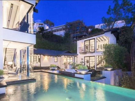 Calvin Harris Mansion House Home Hollywood Hills