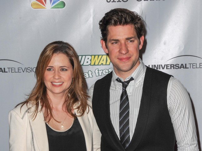 The Office Pam Jim Jenna Fischer John Krasinski