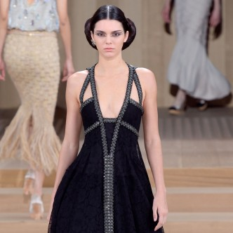 Kendall Jenner Chanel Catwalk 2016 Paris Fashion Week