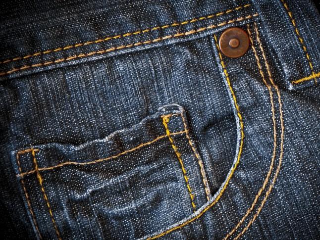 Jeans pocket denim