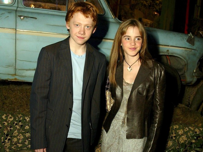 Ron And Hermione Dating In Real Life
