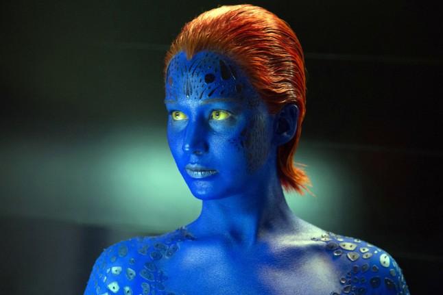 Jennifer Lawerence in X-Men