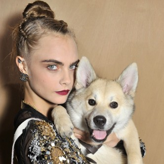 Cara Delevingne and Leo