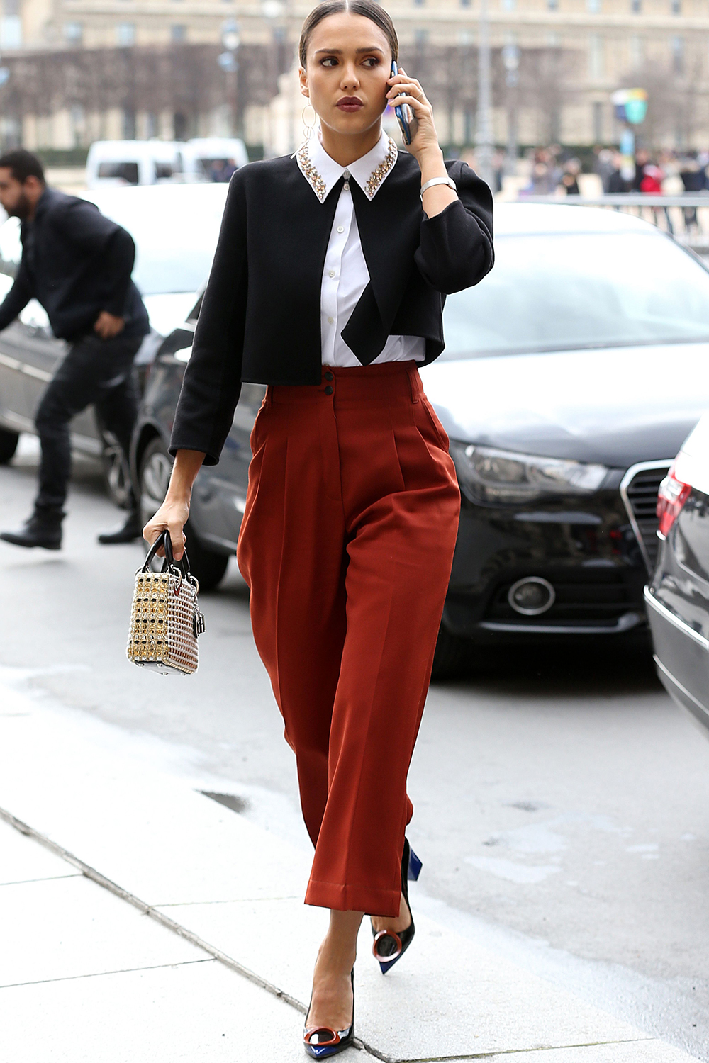 Celebrity Workwear Inspiration What The Stars Wear To The Office Jessica Alba Page 19