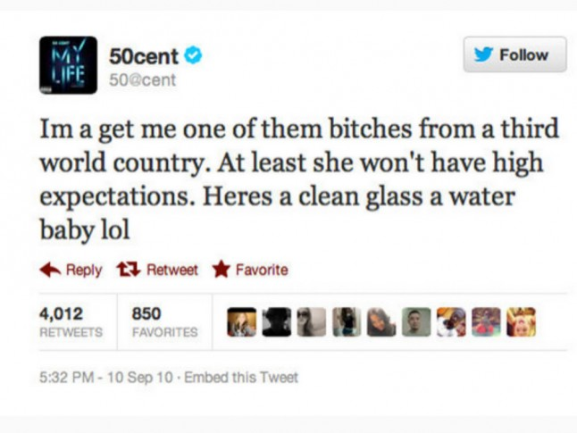 50 Cent and Floyd Mayweather prove just how much they hate ...