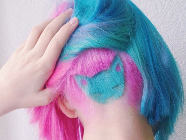 Hair trend women are shaving cats into their undercuts for Shave before tattoo
