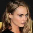 Cara Delevingne braid hairstyle at MTV Movie Awards 2016