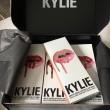 Kylie Jenner Lip Kit boxes