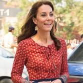 Kate Middleton wearing Glamorous dress