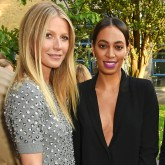 Gwyneth Paltrow and Solange Knowles
