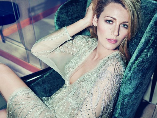 Blake Lively is Marie Claire's August issue cover star