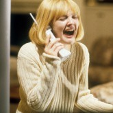 drew barrymore, on phone, scream film