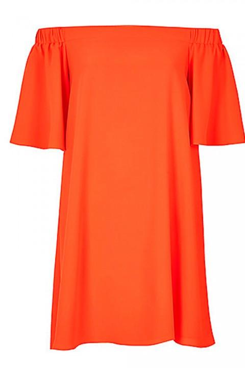 Dresses For Wedding Guest River Island : Wedding guest dresses river island orange bardot swing