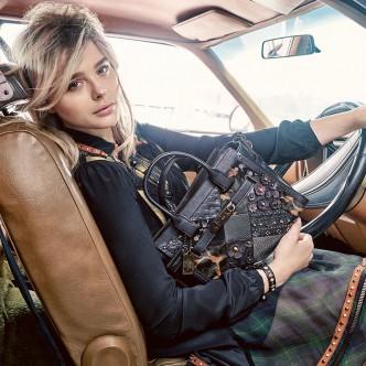 Chloe Moretz stars in Coach AW16 campaign