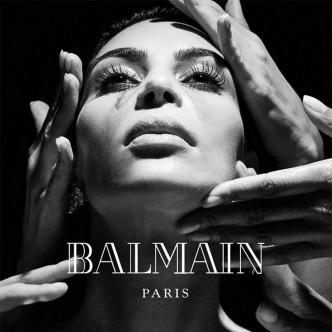 Kim Kardashian, Balmain AW16 campaign