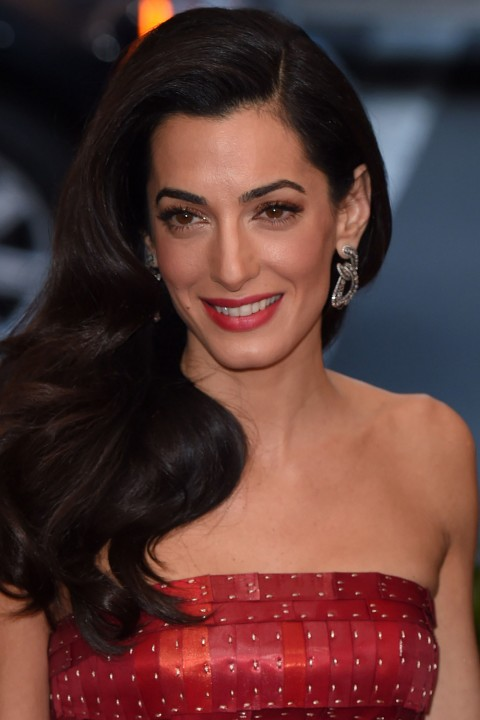The Amal Clooney beauty look book