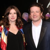 Jamie Oliver Jools Oliver red carpet photo