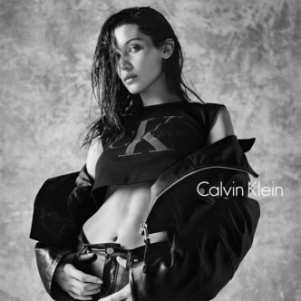 Bella Hadid, Calvin Klein autumn/winter 2016 campaign