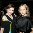 Lena Dunham and Jemima Kirke