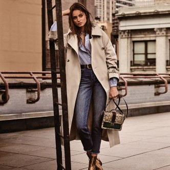 Taylor Hill, Topshop aw16 campaign